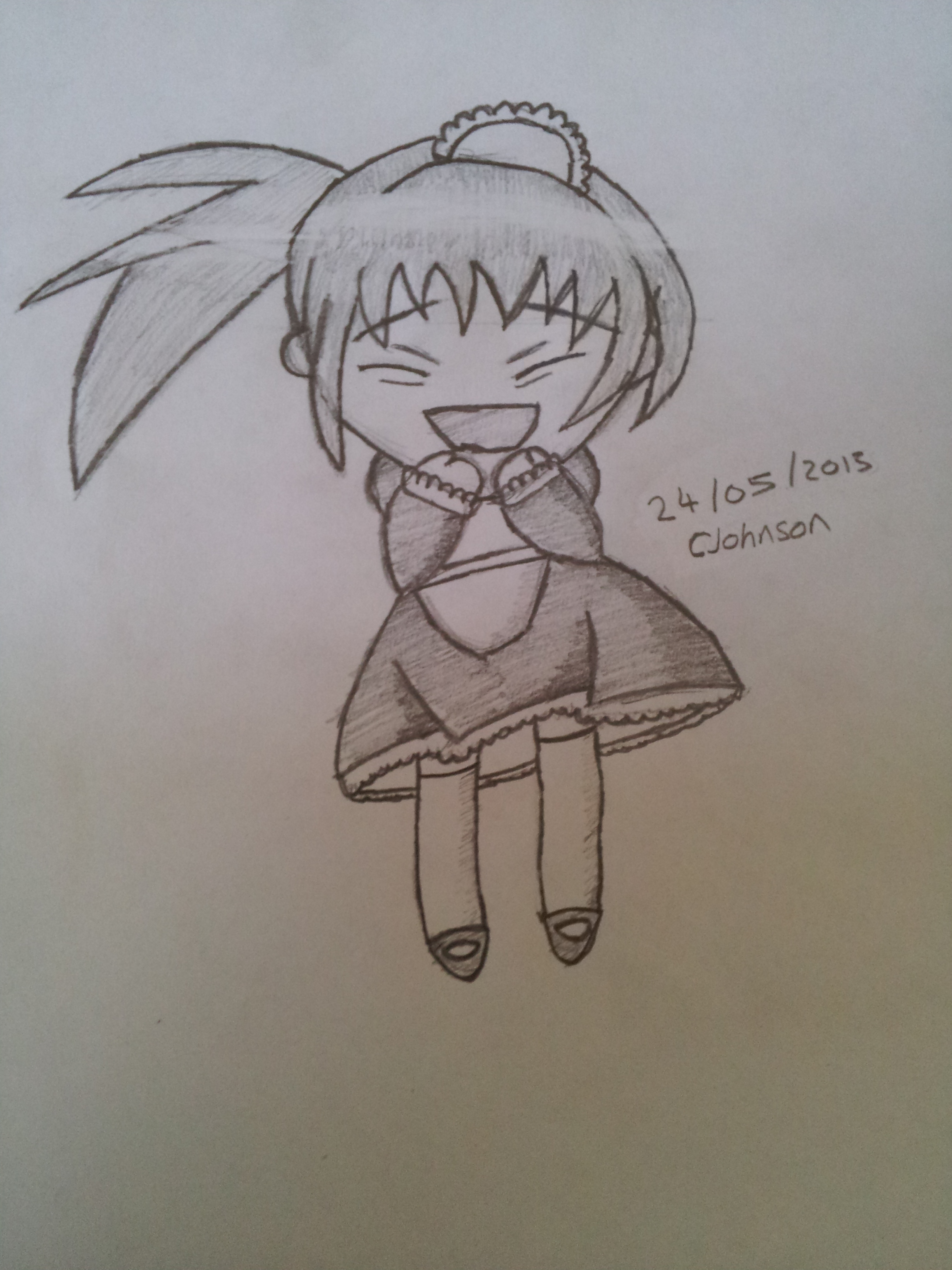 Happy Chibi Drawing | www.pixshark.com - Images Galleries ...